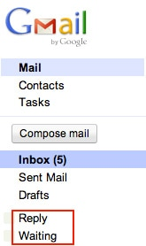 Gmail Folders