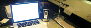 Hotel Room Workspace