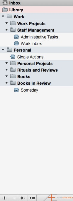 OmniFocus Series Tom Jenkins Project Folders