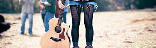 Guitar and Tights