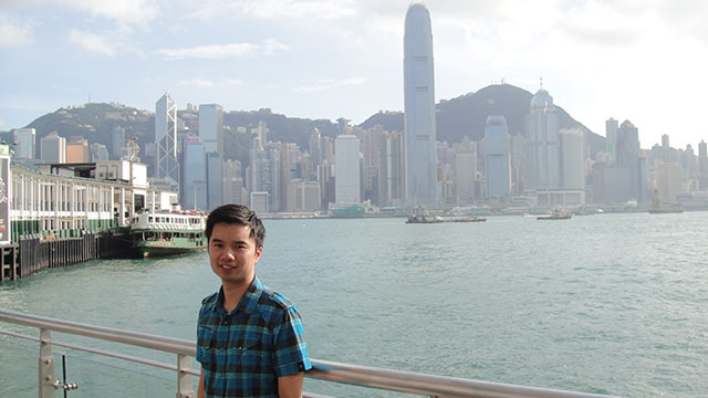 Thanh in Hong Kong